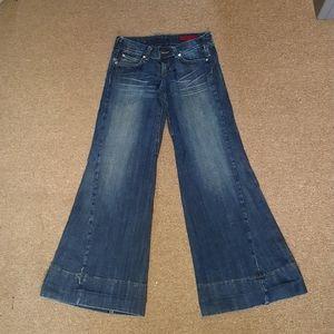 Super wide leg jeans